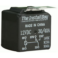 Metra 12V 30/40 Amp Relay - RL3040 - IN STOCK