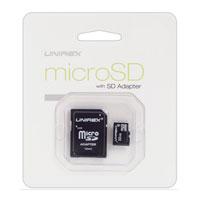 Unirex 4GB MicroSD Card - MSU042 - IN STOCK