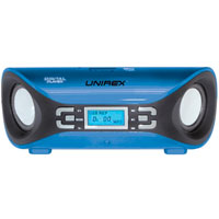Unirex Portable Speaker with Radio, USB & SD/MMC Ports - DX-4313 / DX4313 - IN STOCK