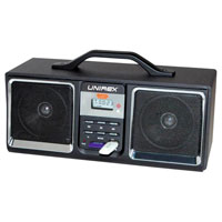 Unirex Portable Speaker with Radio, USB & SD/MMC Ports - DX-4305 / DX4305 - IN STOCK