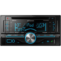 Kenwood Double Din CD Receiver with USB/AUX/SiriusXM Ready - DPX-500BT / DPX500 - IN STOCK