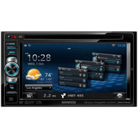 Kenwood 6.1 in. Indash CD/DVD Multimedia Receiver - DNN770HD / DNN770 - IN STOCK