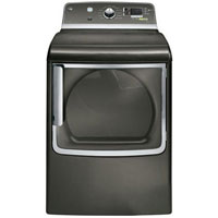 G.E. GTDS825EDMC Electric 7.3 Cu. Ft. Metallic Carbon High Efficiency Top Load Dryer - GTDS825EDMC - IN STOCK