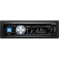 Alpine CD Receiver with USB/AUX/Bluetooth - CDE-SXM145BT / CDESXM145BT