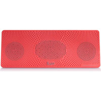 iLuv MobiTour Portable Bluetooth Wireless Stereo Speaker - ISP202RED - IN STOCK