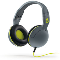 Skull Candy Hesh 2 Headphones (Gray/Black/Hot Lime) - S6HSFZ-319 / S6HSFZ319 - IN STOCK