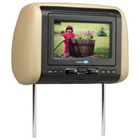 Audiovox 7 in. Headrest w/DVD Player - AVXMTGHR1D - IN STOCK