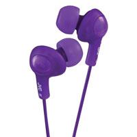 JVC Gumy Plus Inner Ear Headphones (Violet) - HA-FX5-V / HAFX5V - IN STOCK