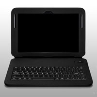 Aluratek Slim Color Folio Case with Bluetooth Keyboard - ABGK04F - IN STOCK