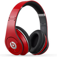 Beats By Dr. Dre Studio Over-Ear Headphone (Red) - STUDIORED - IN STOCK