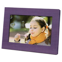 Coby 7 in. Widescreen Digital Photo Frame (Purple) - DP700PUR - IN STOCK