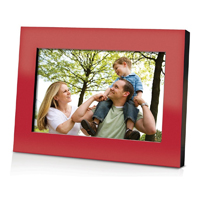 Coby 7 in. Widescreen Digital Photo Frame (Red) - DP700RED - IN STOCK