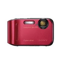 Sony Cyber-Shot 16.1 Megapixel Digital Camera (Red) - DSC-TF1/R / DSCTF1R - IN STOCK