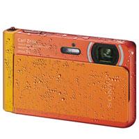 Sony Cyber-Shot 18.2 Megapixel Digital Camera (Orange) - DSC-TX30/D / DSCTX30D - IN STOCK