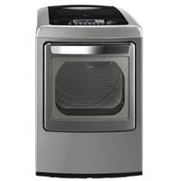 LG DLEY1201V Electric 7.3 Cu. Ft. Graphite High Efficiency European Design Top Load Dryer - DLEY1201V - IN STOCK