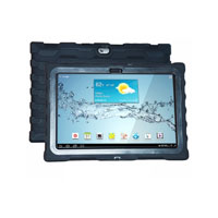 Hard Candy Shockdrop Case for the Samsung Tab 2 10.1 in. - SDSAMTAB2BLK - IN STOCK
