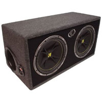 Kicker 12 in. Enclosed Car Subwoofer - 10DC122 - IN STOCK