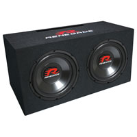 Renegade 1200W Dual 12 in. Subwoofer Enclosure - RXV1202 - IN STOCK