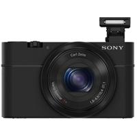 Sony Cyber-Shot 20.2 Megapixel Digital Camera (Black) - DSC-RX100/B / DSCRX100 - IN STOCK