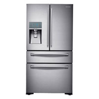 Samsung RF24FSEDBSR 22.6 Cu. Ft. Stainless Counter-Depth 4-Door Refrigerator - RF24FSEDBSR - IN STOCK