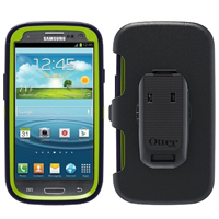 OtterBox Defender Series for Samsung Galaxy S III (Glow Green/Lake Blue) - 77-21378 / 7721378 - IN STOCK
