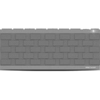 Amethyst Innovations Brick 3.0 Bluetooth Speaker - Grey - M175GY - IN STOCK