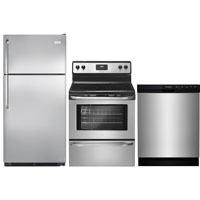 Frigidaire 3 Pc. Stainless Kitchen Package - FRIGSTSTM3PC - IN STOCK