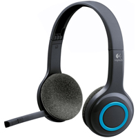 Logitech H600 Over The Head Wireless Headset - H600 / 981-000341 / 981000341 - IN STOCK