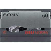 Sony MicroMV Cassette Tape w/ Memory Chip - MGR60 - IN STOCK