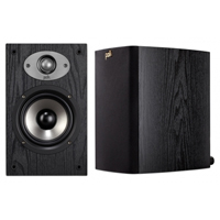 Polk Audio TSx 5-1/4 in. 2-Way Bookshelf Speakers - Black - TSx110B / TSX110 - IN STOCK