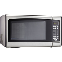 Danby DMW111KPSSDD 1.1 Cu. Ft. 1000W Stainless Countertop Microwave Oven - DMW111KPSSDD - IN STOCK