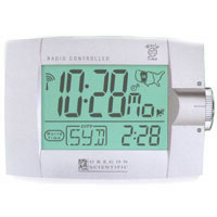 Oregon Scientific Self-Setting Digital Alarm Clock w/ World Time Display & Dual Alarm Setting Modes - RM932A / RM932 - IN STOCK