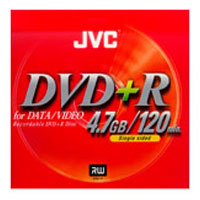 JVC Blank DVD+R Media For Data & Video - VDPR47BU / VDPR47 - IN STOCK