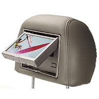 Audiovox Dual 7 in. Widescreen Headrest Monitors - Gray Leather - 205503 - IN STOCK