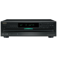 Onkyo Home Audio 6-Disc CD Changer w/ VLSC (Vector Linear Shaping Circuitry) & Remote Control - DX-C390 / DXC390 - IN STOCK