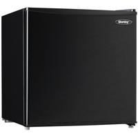 Danby DCR017A2BDB 1.7 Cu. Ft. Black Compact Refrigerator - DCR017A2BDB - IN STOCK