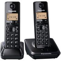 Panasonic DECT 6.0 Twin Cordless Phone - KXTG2712B - IN STOCK