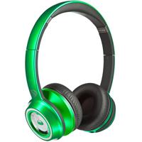 Monster NCredible NTune On-Ear Headphones - Green - 128504 / MHNTUONCGR - IN STOCK