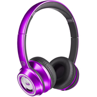 Monster NCredible NTune On-Ear Headphones - Purple - 128508 / MHNTUONCPU - IN STOCK