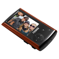 Naxa Portable Media Player with 2.4 in. Touch Screen - Red - NMV-174RD / NMV174RD - IN STOCK