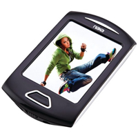 Naxa Portable Media Player with 2.8 in. Touch Screen - Silver - NMV-179SL / NMV179SL - IN STOCK