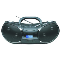 Naxa Portable MP3/CD Player with Text Display, AM/FM Stereo Radio, USB Input and SD/MMC Card Slot - NPB-256 / NPB256 - IN STOCK