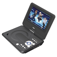 Naxa 9 in. LCD Swivel Screen Portable DVD Player w/ USB/SD/MMC - NPD-952 / NPD952 - IN STOCK