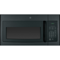 G.E. JVM3160DFBB 1.6 Cu. Ft. 1000W Black Over-the-Range Microwave - JVM3160DFBB - IN STOCK