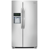 Frigidaire Gallery FGHC2331PF 22.6 Cu. Ft. Stainless Counter-Depth Side-by-Side Refrigerator - FGHC2331PF - IN STOCK