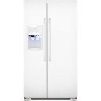 Frigidaire FFHS2322MW 22.6 Cu. Ft. 33 in. Width White Side-by-Side Refrigerator - FFHS2322MW - IN STOCK