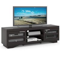 Sonax Granville Deep Black 66 in. Wood Veneer TV Bench - B-007-RGT / TGR700B - IN STOCK