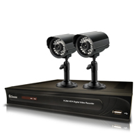 Swann 2 Camera/500GB DVR Security Camera Package - WMTHOMEDVR4 - IN STOCK