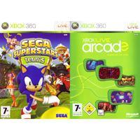 Microsoft Sega Superstars & Live Arcade Compilation Disc - Xbox 360 - TENNISARCADE - IN STOCK