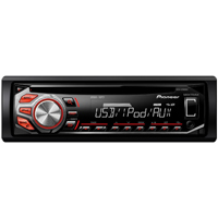 Pioneer CD Receiver w/ MIXTRAX, USB Control, Android Media Access, and Pandora - DEH-X2600UI / DEHX2600 - IN STOCK